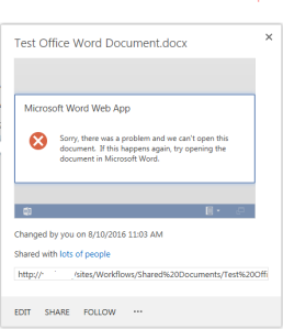 OfficeWebAppsWordErrorProblemOpeningDocument